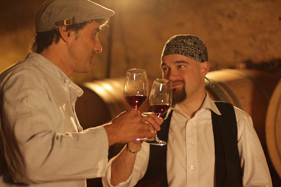 Coppia di enologi in tandem da Caldaro a Capri con il vino Kalterersee