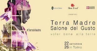 Terra Madre Salone del gusto: dal 22 al 26 settembre 2016 a Torino la festa di Slow Food