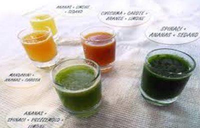 Succhi vivi frutta e verdura, proprietà degli estratti a freddo