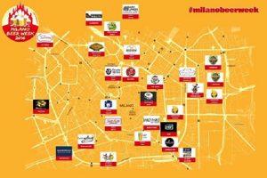 Milano Beer Week: la mappa dei 27 locali selezionati per l'edizione 2016