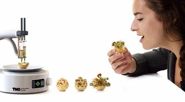 Cibo 3D, futuro o realtà? A Londra apre FoodInk
