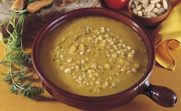 zuppa ricca con grana padano