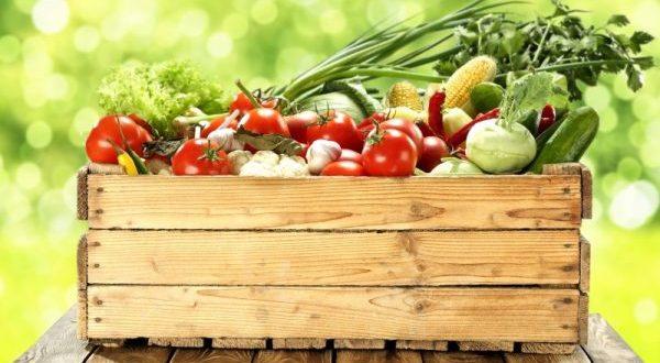 comprare e mangiare cibo bio