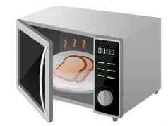 riscaldare cibo microonde